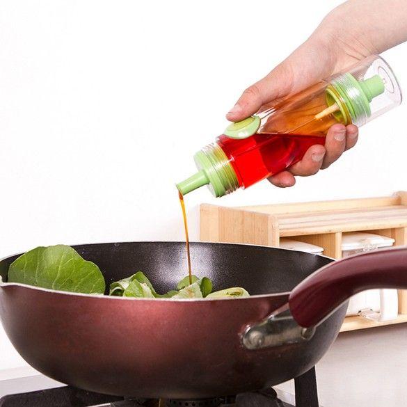 2 в 1 кулинария оливковое масло распылитель бутылку + пресс диспенсер уксусница бутылка контейнера барбекю торт кондитерские изделия кухонный инвентарь ASLT
