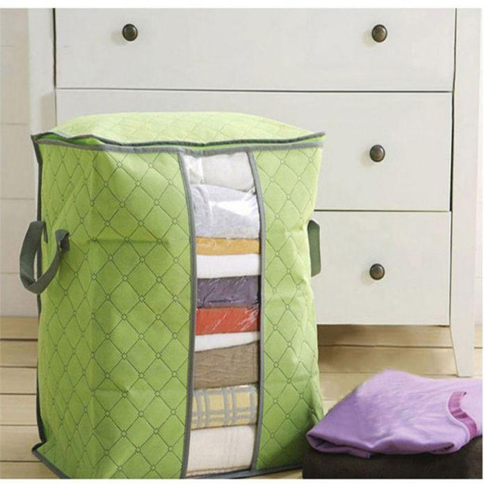 Большие Одежда Постельное Белье Одеяло На Молнии Подушки Нетканые Сумка Для Хранения Box Качества Во-Первых