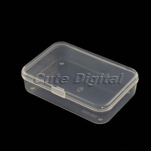 Новый Пластиковый Прозрачный Ящики Для Хранения Коллекции Контейнер Организатор Дело Box для Ювелирных Изделий для Пищевой 8.5*5.7*2 см
