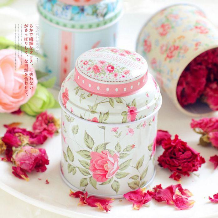 1 шт. Новый тип Европа стиль чайница получать коробка конфеты коробка для хранения свадьбы пользу жестяной коробке кабельный организатор контейнер бытовые