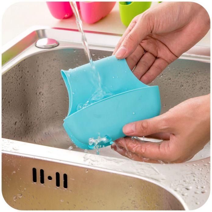 Седло Типа Губки стеллаж для хранения Седло корзины ткань мытья/Туалетное мыло полка Организатор кухня гаджеты Аксессуары