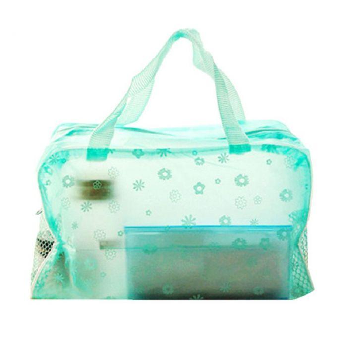 26 апреля Mosunx Бизнес Водонепроницаемый ПВХ Ясно Коробка Для Хранения макияж мешок для Косметики и Ванной Продукции
