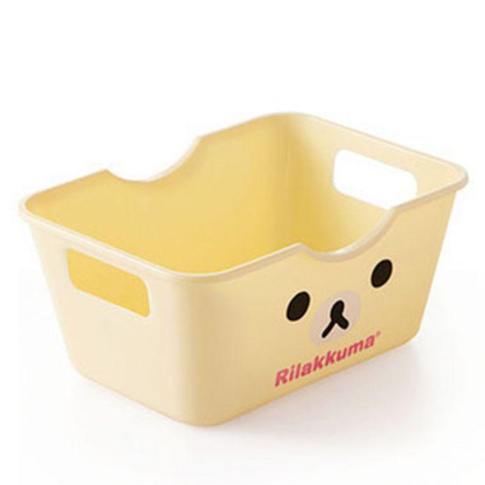 Мини-мультфильм хранения канцелярских отделочных мусора ящики для хранения прямоугольный стол главная мусора многократного использования лоток для хранения