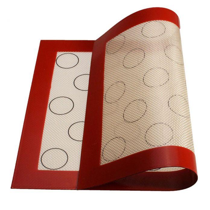 2016 высокое качество 25 x 35.5 x 0.7 см стекловолокна MACARON силиконовые коврики выпечки лайнер лучший силиконовые печь коврик теплоизоляция площадку