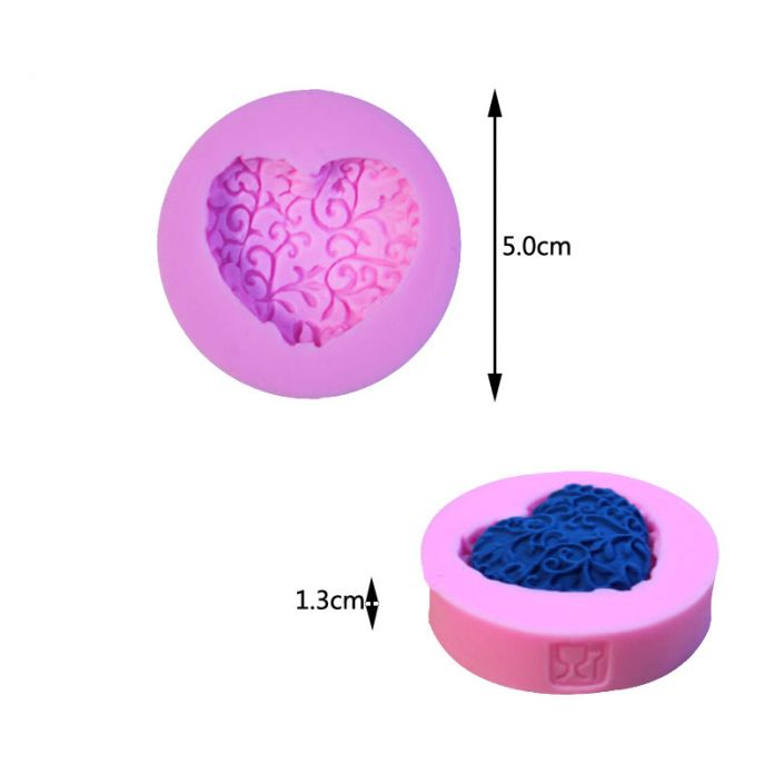 3D Силиконовые Формы Цветка Торт DIY Ручной запеченные Печенье Mold пищевого Силикона Выпечки Серии
