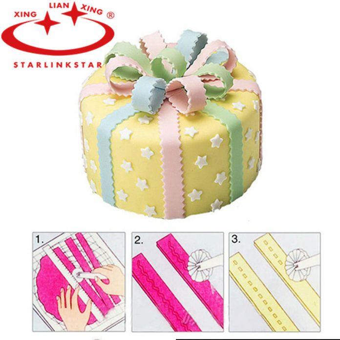 1 шт. колеса фондант торт сахар ремесленные моделирование Embosser DIY обледенение кондитерские украшения торта инструмент
