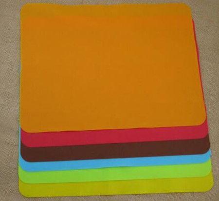 Горячая распродажа! Новый 40 x 30 см силиконовые коврики выпечки лайнер лучший силиконовые печь коврик теплоизоляция площадку для выпечки ребенок стол мат
