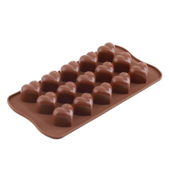 1 шт. Силиконовые Ice Cube Шоколадный Торт Желе Лоток Пан Сердце Чайник Прессформы Прессформы Горячий Поиск
