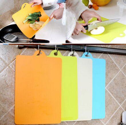 1 шт колода пластическая разделочная доска разделочная доска Антибиотик кухонные принадлежности Разделочная доска для Фруктов 24x34.9cm