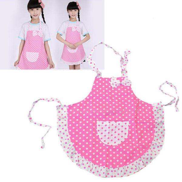 Милые дети детей обычная фартук для кухни готовить столовая лягушка водонепроницаемый - пятно принцесса фартуки оптовая продажа