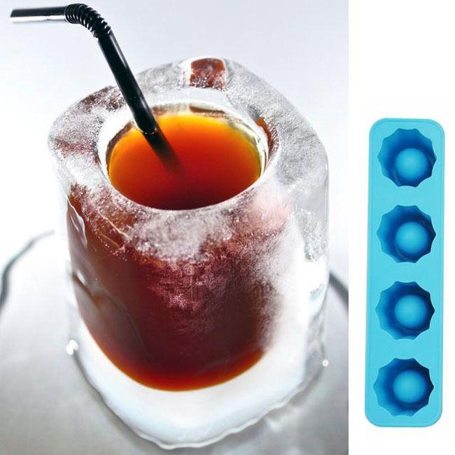 Для Льда Куб Mold Делает Рюмки Лед Плесень Новизна Подарки Поддон Для Льда Питьевой Летом Инструмент