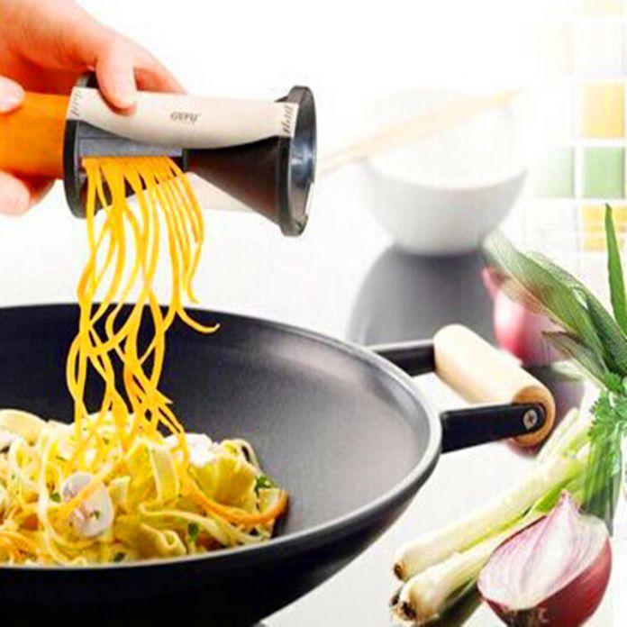 Кухня комната Spirelli терка жульен спираль Slicer легко спираль Spiralizer резки твистер кухня резак
