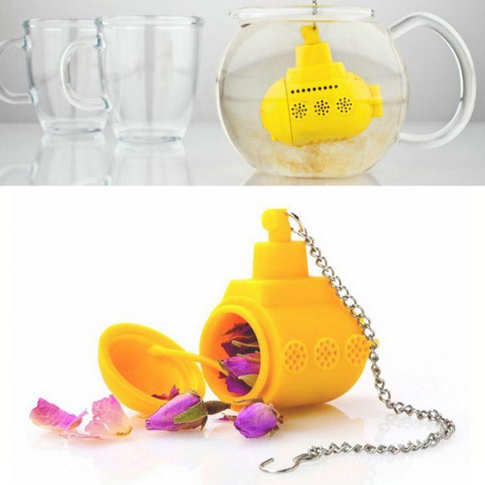 Доставка чайник милый заварки чая ситечко силиконовым чай травяные специи для заварки фильтр кофе и чайные сервизы инструменты