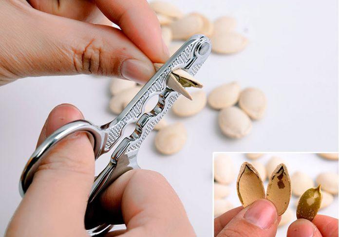 Дыни плоскогубцы ножничные щелкунчик бутылок зажим орех сосна шеллер щелкунчик кухня бытовой инструментов подсолнечник
