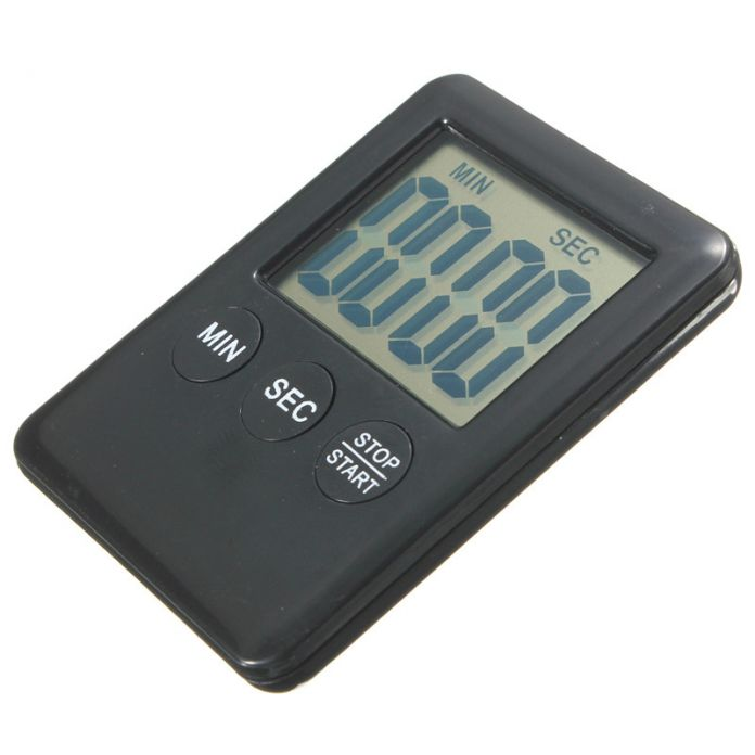 Новое Поступление Высокое Качество Электронной Цифровой ЖК-Магнитные Яйцо Кухонный Таймер Обратного Отсчета 99 Минут