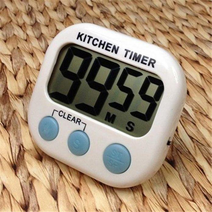Новый большой жк-цифровой кухонный таймер граф - до часы громкий сигнал тревоги магнитный