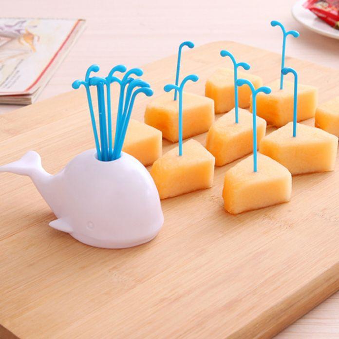 Творческий белый кит дизайн банку спрей фрукты выбор инструмента кухни бесплатная доставка