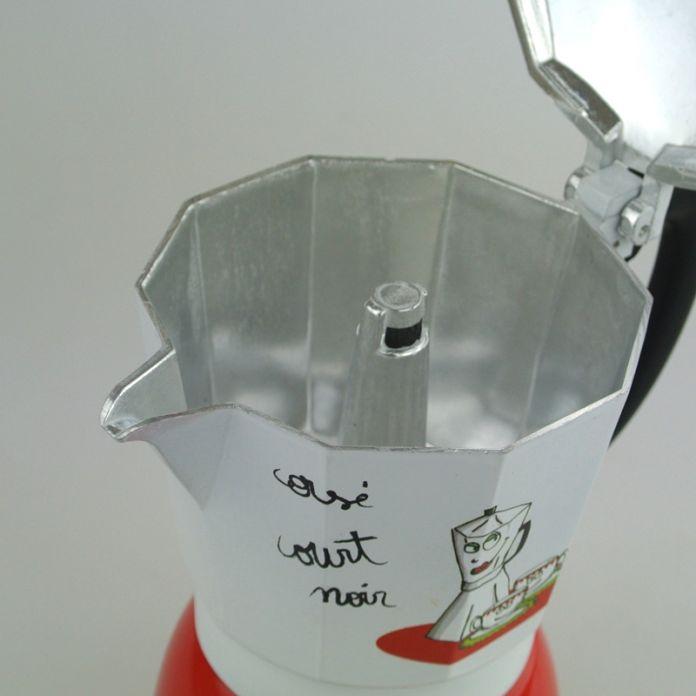 Итальянский плитой / мока эспрессо / перколяторе горшок кофеварка эспрессо 6 чашки (чашек) алюминиевый мока-кофеварка / кофе