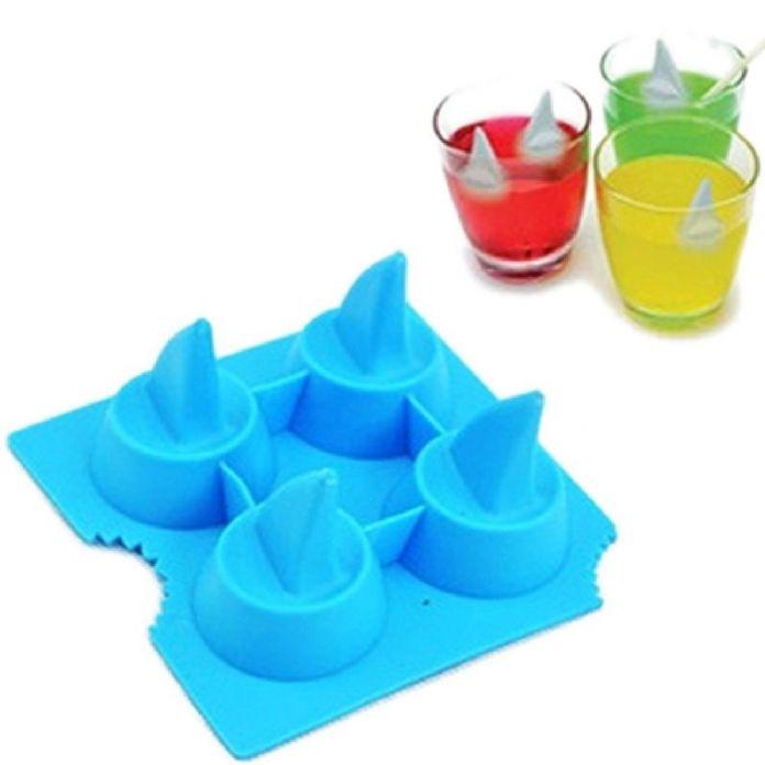 Бесплатная доставка акулы 3D форма для льда прохладно мозг форма для льда мораторий формы льда