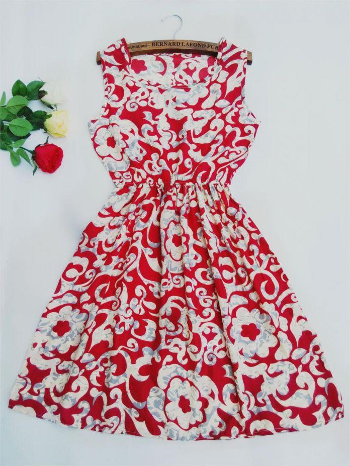 2016 женщин Европейский стиль плюс размер партии Способа Жилет платье сексуальные Цветочные принты Тонкий Мини-Платье Весна новые летние платья