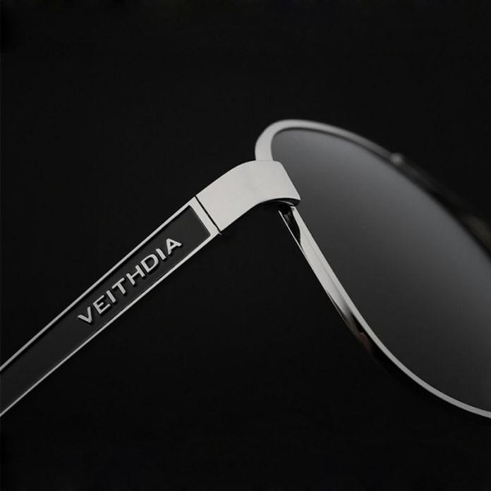 Стильные спортивные мужские солнцезащитные очки-авиаторы, украшенные на дужках фактурным декором в виде головы леопарда, с поляризованными зеркальными линзами, мужские очки для вождения, артикул 3152