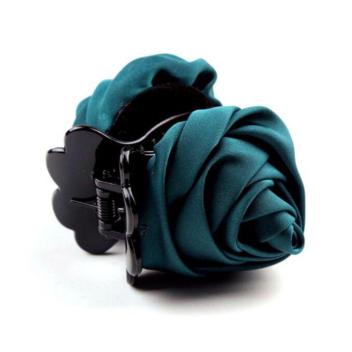 Новая Мода Chic Женщины Головные Уборы Заколки Розы Барретт Зажим Для Волос Pin Волос Коготь Для Женщин