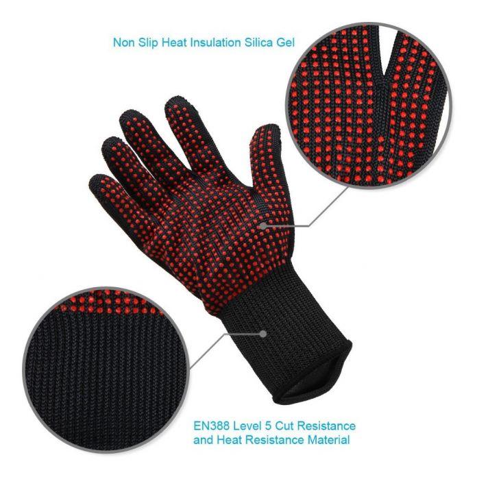 Устойчива к порезам перчатки защитные перчатки 5 самооборона резки проволоки профилактической работы перчатки, открытый восхождение тактические перчатки.