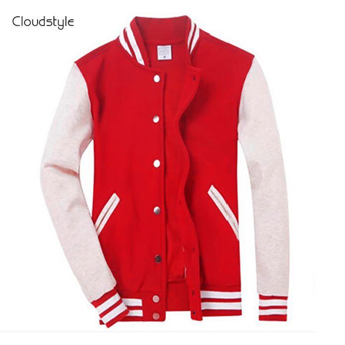 2016 Бренд Одежды Бейсбол Куртка Мужчины Толстовка Колледж Спортивной Куртки Случайных Slim Fit Куртка Мужская Одежда 10 Цветов