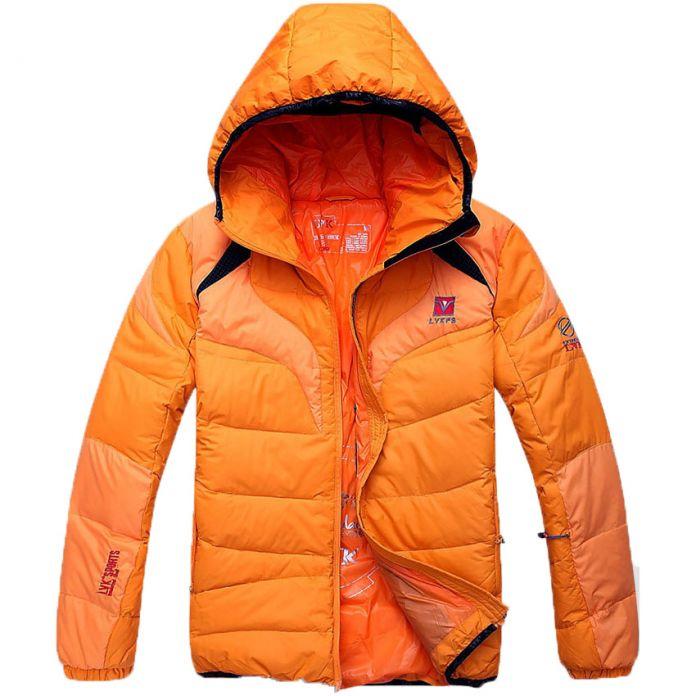Бесплатная доставка 2016 Зимние Мужчин С Капюшоном Зимние Куртки И Пальто Молния Тонкий Ветровка Мужская Одежда куртка парка мужчин 45hfx