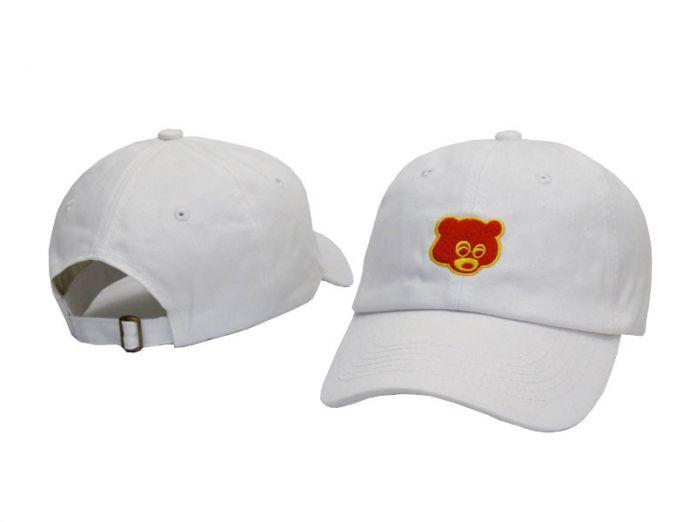 Новая Мода Выпускной Колледжа Отсева Папа Медведь Hat Cap Вышивка Унисекс Бейсболка Хип-Хоп Женщины Мужчины Регулируемые Шляпы Дальнобойщик