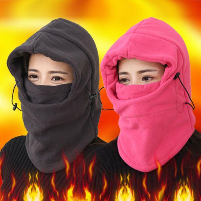 Теплые зминие балаклавы для женщин