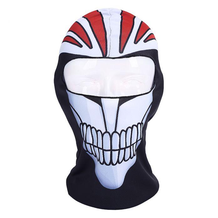 New Cool Смерть Bleach Маска Куросаки Ичиго Балаклава Halloween Party Мотоциклов Лыжная Велоспорт Косплей Дышащий Череп Маска