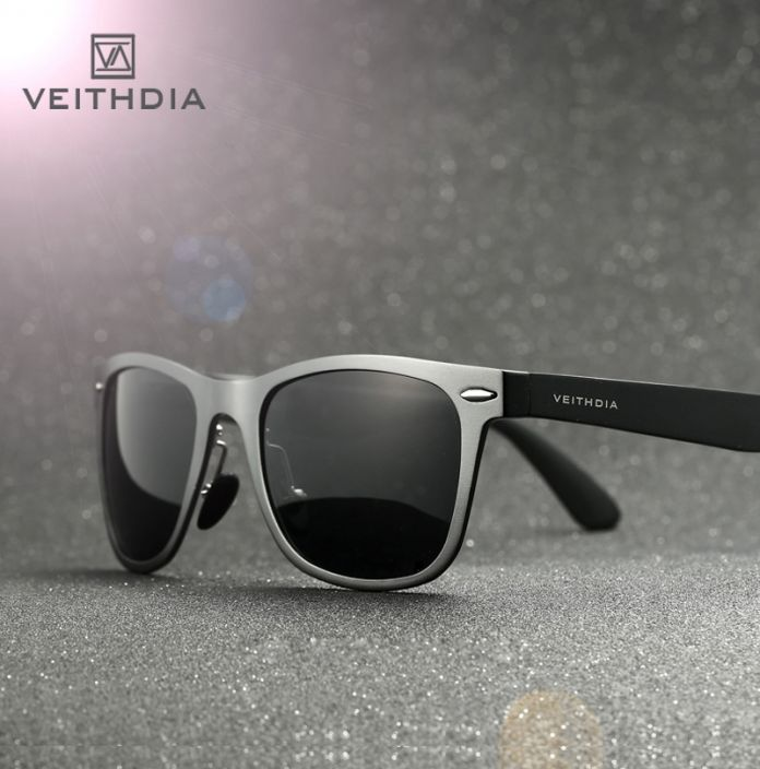 Алюминиевые очки для путешествий с поляризованными линзами. Мужские зеркальные очки для вождения, рыбалки. Аксассуары, очки, 2140