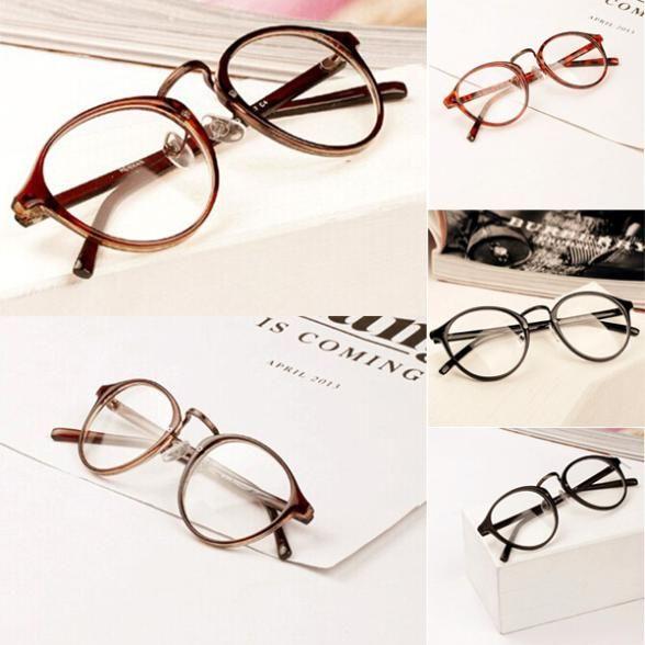 Прозарчные ретро очки (унисекс)