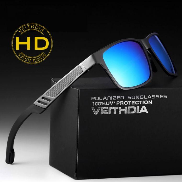 Алюминиевые очки для путешествий с поляризованными линзами. Мужские зеркальные очки для вождения, рыбалки. Аксассуары, очки, 6560