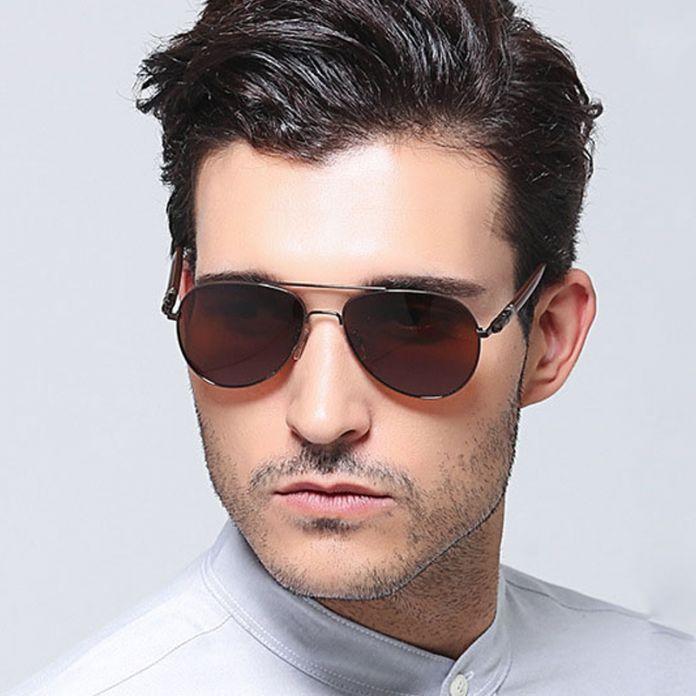 Распродажа солнцезащитные очки мужские 2016 люксовый Бренд дизайнерские очки Ретро винтажные очки длч Рыбалки, Прогулок с покрытием Polaroid Солнцезащитные очки для мужчин