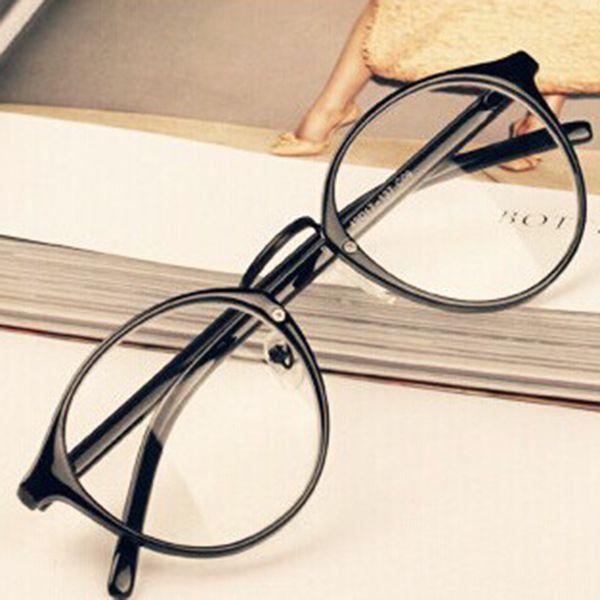 Мужчины Женщины Nerd Очки Прозрачные Линзы Очки Унисекс Ретро Очки Очки TH47