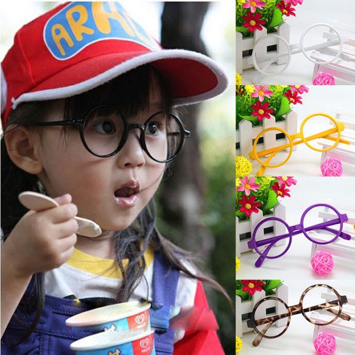 Оптовая маленькие круглые очки кадр дети Arale Гарри Портер детские очки кадр и прилив без объектива w003