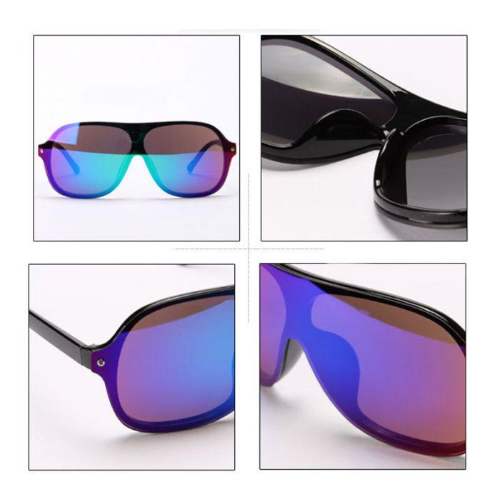 2016 Вождения очки мужские солнцезащитные очки марка модельер лето стиль светоотражающие тень ретро очки большие очки женщин A24