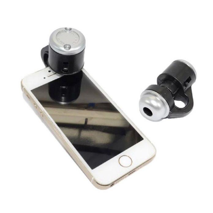 Универсальный 30X Оптический Зум Мобильного Телефона Микроскопа Зажим Micro Объектив овальная Форма Телескоп Объектива Камеры Для iPhone 5 6 iPad Samsung