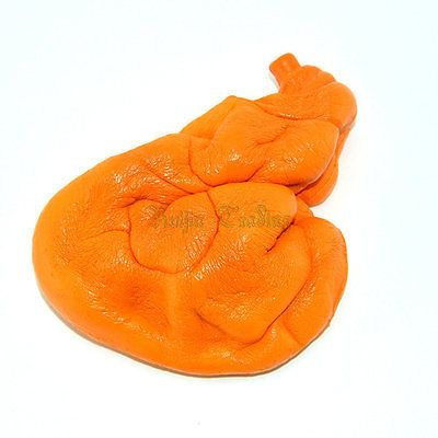 Медленный Рост 20 СМ Колоссальный Куриная Ножка Хлеб Squishy Jumbo Ремень Стресс Растянуть Ароматические Squeeze Мягкие Крем Игрушки Розничной Упаковке