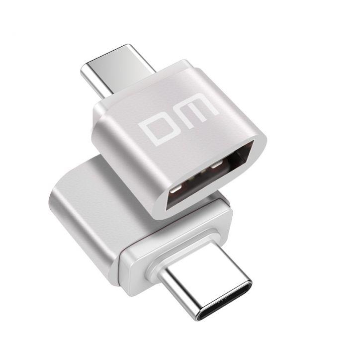 DM Типа C Type-C Адаптер Micro USB Адаптер Конвертер USB Тип Данных Поддержка оборудования с Type-C интерфейс бесплатно