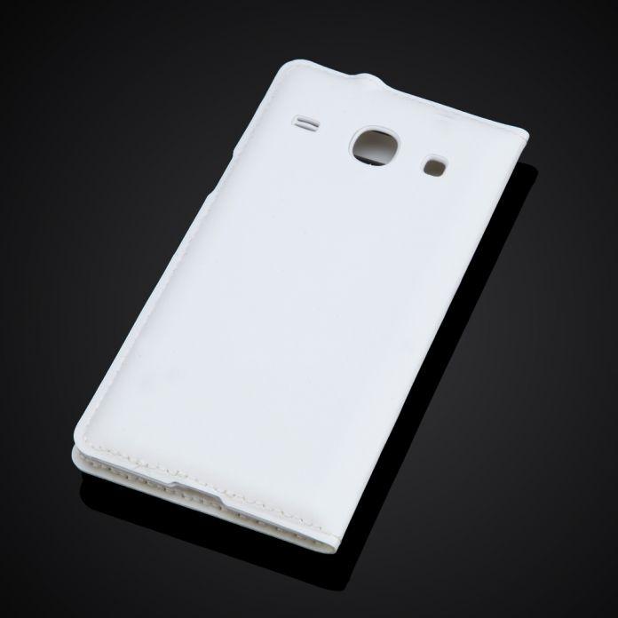 Задняя крышка корпуса батарея для Samsung ядра галактики I8260 I8262 GT-I8262 GT-I8260 окно просмотра флип кожаный чехол