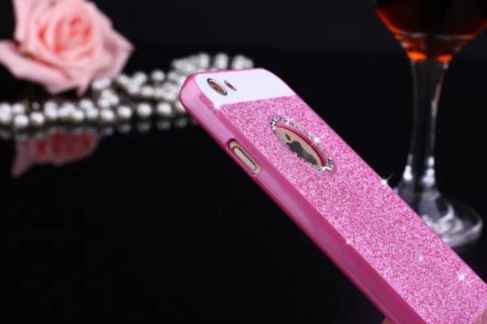 Роскошный Сотовый Телефон Случае Диаманта bling Искра Блеск Защитная Крышка Для iPhone 5S 6 S 6 Плюс