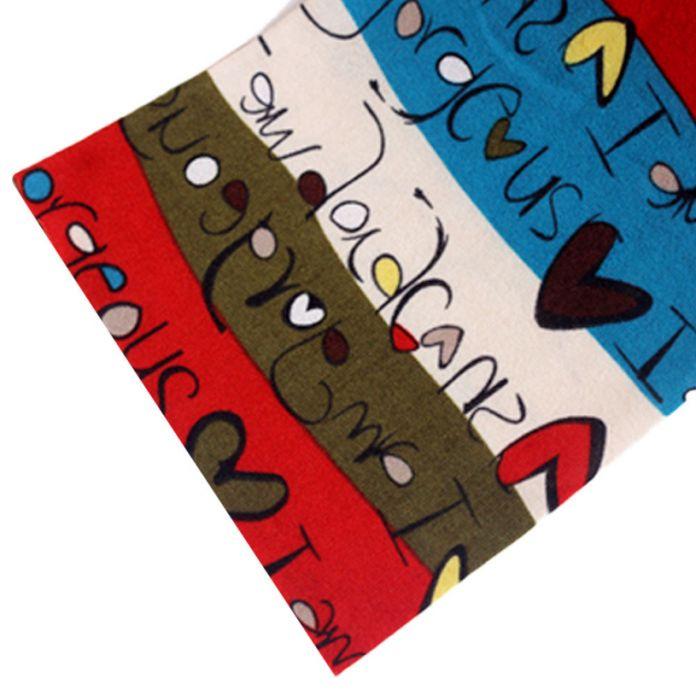 Новые марка 2015 дети шарф мода открытый хлопок печати теплый кольцо Шарфы для девочек и мальчиков