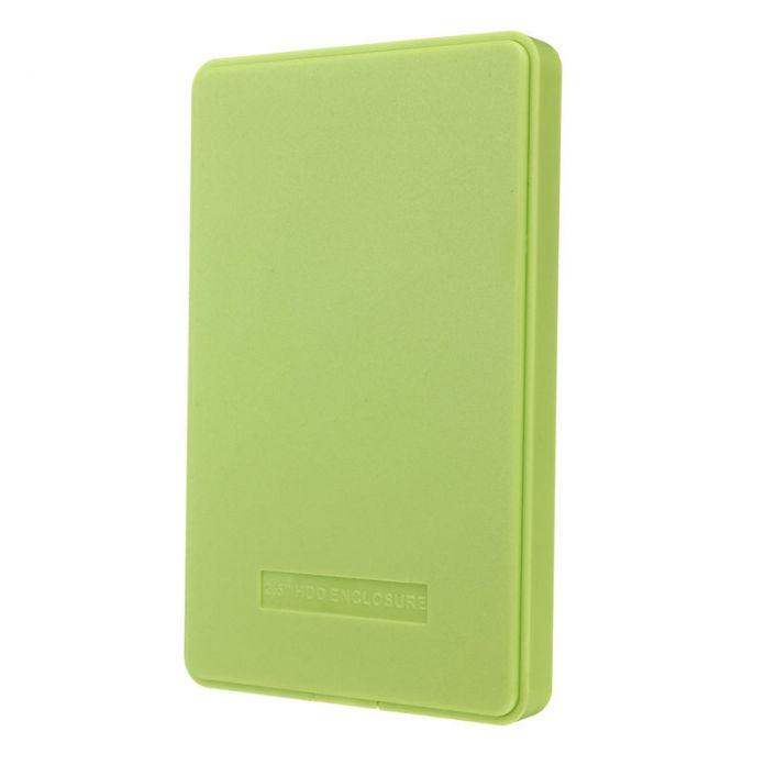 Самая низкая цена тонкий и портативный USB 2.0 корпус внешний жесткий чехол для SATA 2.5 жесткие диски HDD настольных ноутбуков красочные