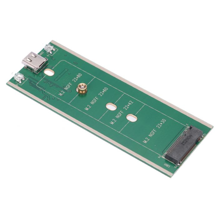 NGFF M.2 B Ключ SSD для USB 3.1 Type-C Корпус 10 Гбит конвертер Адаптер Карты Внешний Алюминиевый Корпус Caddy + Кабель USB