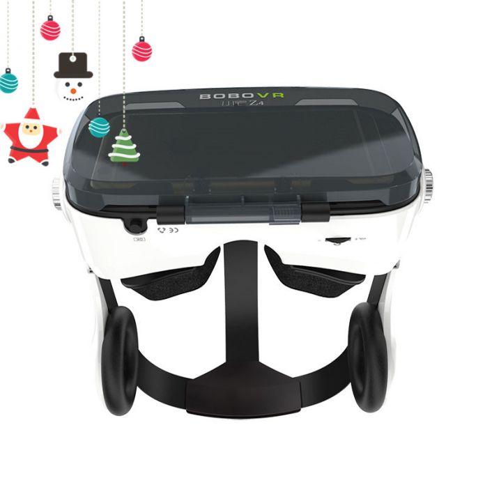 Bobovr Z4/Z4 мини 3D Очки очки виртуальной реальности с наушниками лучше, чем VR Box Google коробка картон Bobo VR Z4 с игровой контроллер VR ГАРНИТУРА для 4.0-6.0-дюймовый смартфон для iPhone Samsung xiaomi телефон