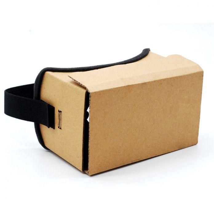DIY Google Картон 3d Очки Очки Виртуальной Реальности Vr Коробка 3d Стекло Частный Театр Для Iphone Android Смарт Мобильный Телефон