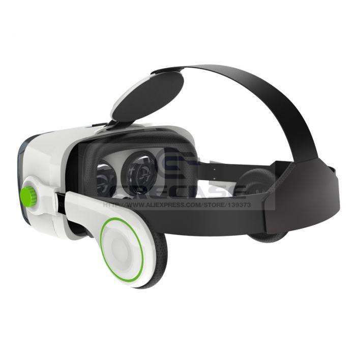 ГОРЯЧАЯ BOBOVR Z4 3D Очки Виртуальной Реальности Шлем 3D Фильм VR КОРОБКА Гарнитура Телефон Игры Видео Частный Театр + Bluetooth Геймпад 5.0